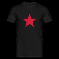 T-Shirts ~ Men's T-Shirt ~ Red Star Tee Shirt