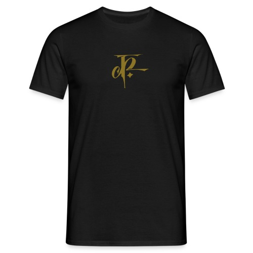 JH Comfort-T black/metallic gold - Men's T-Shirt