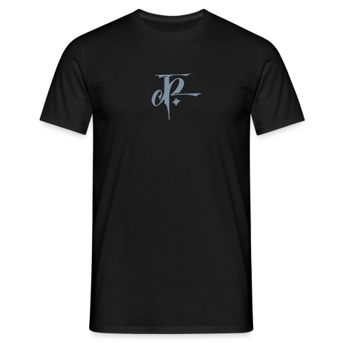 JH Comfort-T black/silver - Men's T-Shirt