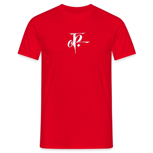 JH Comfort-T red/white - Men's T-Shirt