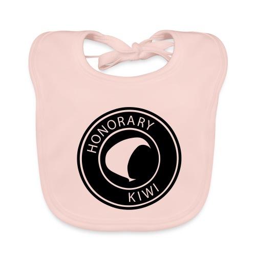 Baby Girl Honorary Kiwi Bib - Baby Organic Bib