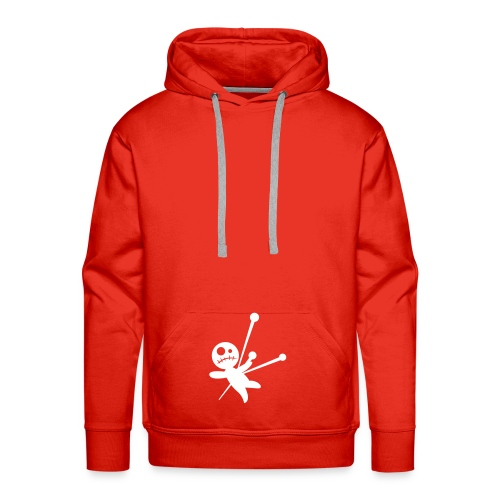 Classic Pain Hoody (in Red) - Men's Premium Hoodie