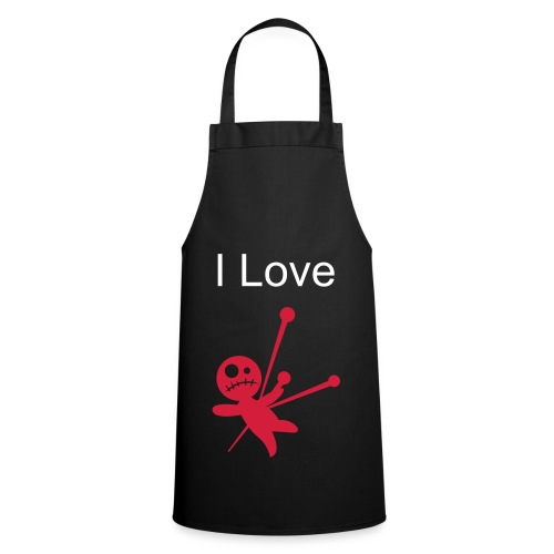 I Love Pain Apron (In Black) - Cooking Apron