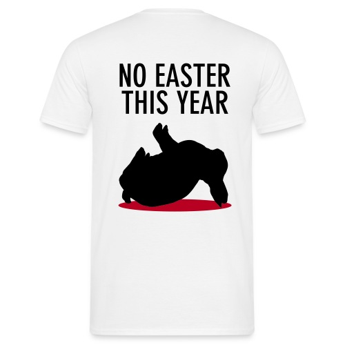 TOstern Dead Rabbit WHITE - Männer T-Shirt