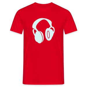 Reflective Headphones - Men's T-Shirt