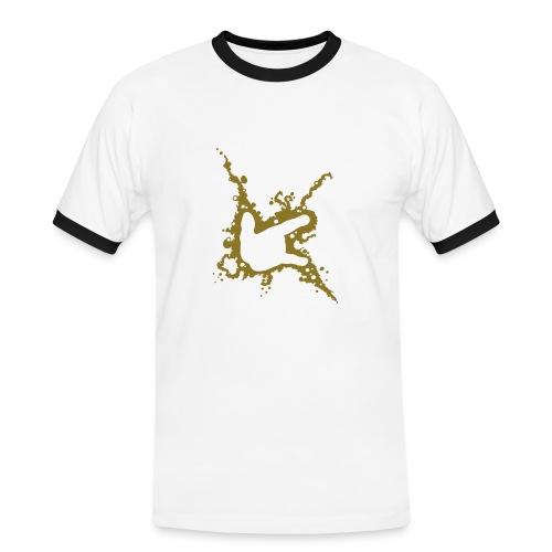 ILY Abstrakt - Männer Kontrast-T-Shirt