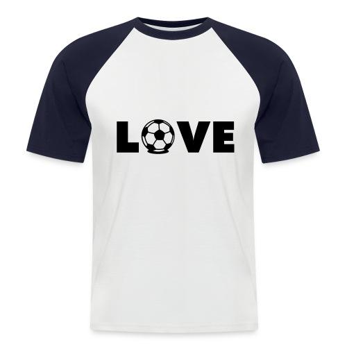 Love - Männer Baseball-T-Shirt