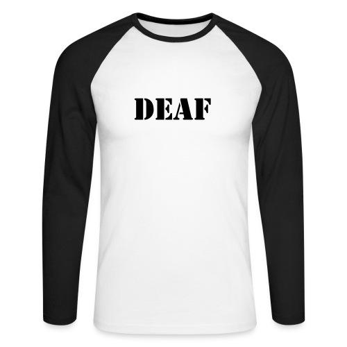 DEAF - Männer Baseballshirt langarm