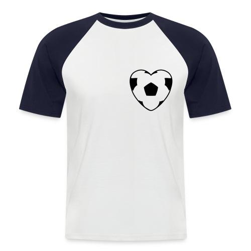Heartball - Männer Baseball-T-Shirt