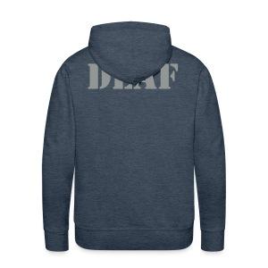 DEAF - Männer Premium Hoodie