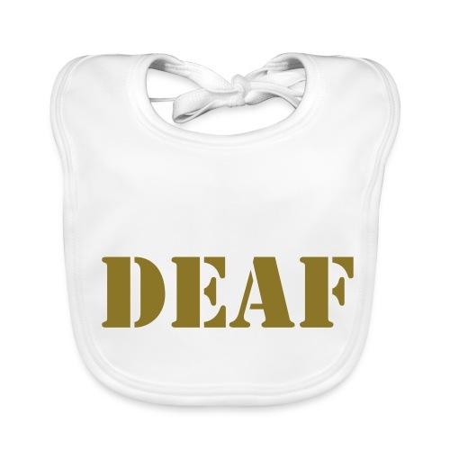 DEAF - Baby Bio-Lätzchen