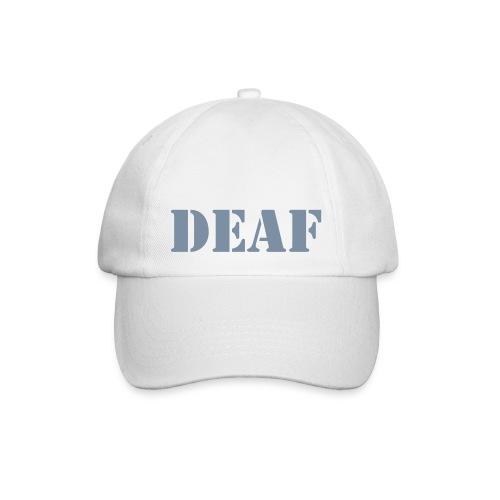 DEAF - Baseballkappe