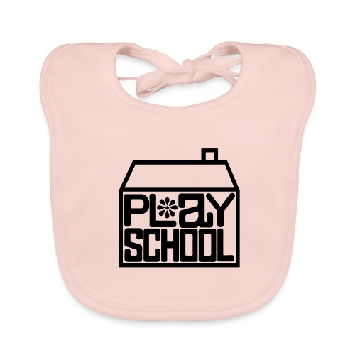 Baby Girl Play School Bib - Baby Organic Bib