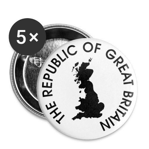 The republic of Great Britain - Buttons small 25 mm