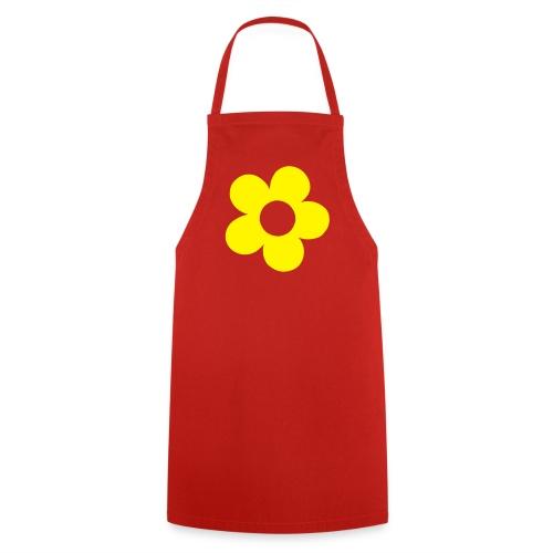 Fartuszek z kwiatkiem - Fartuch kuchenny