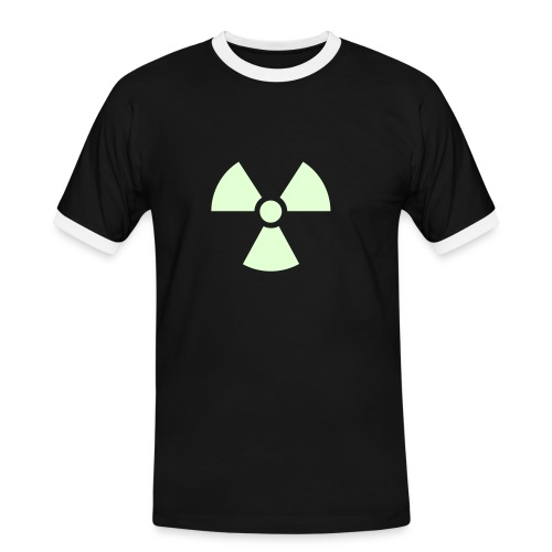 Radioactive party shirt 2 - Men's Ringer Shirt