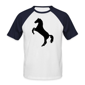 Raging Horse by Jamie Rose - Men's Baseball T-Shirt