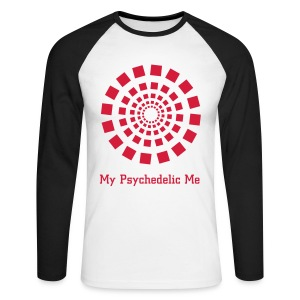 T-shirt manches longues My Psychedelic Me - Men's Long Sleeve Baseball T-Shirt