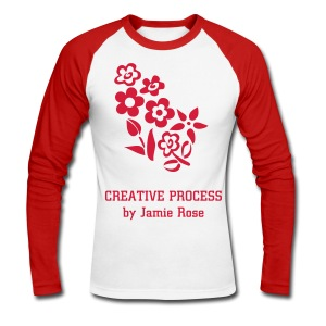 T-shirt manches longues Creative Process by Jamie Rose - Men's Long Sleeve Baseball T-Shirt