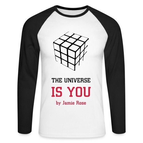 T-shirt manches longues The Universe Is You by Jamie Rose - Men's Long Sleeve Baseball T-Shirt
