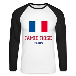 T-shirt manches longues Jamie Rose Paris - Men's Long Sleeve Baseball T-Shirt