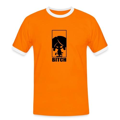 bitch - Maglietta Contrast da uomo
