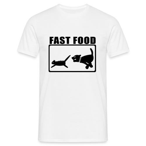 Fast Food - Maglietta da uomo