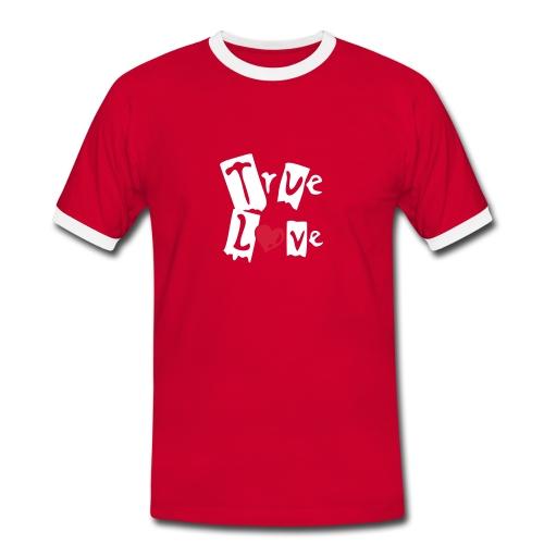T-Shirt Slim True Love - T-shirt contrasté Homme