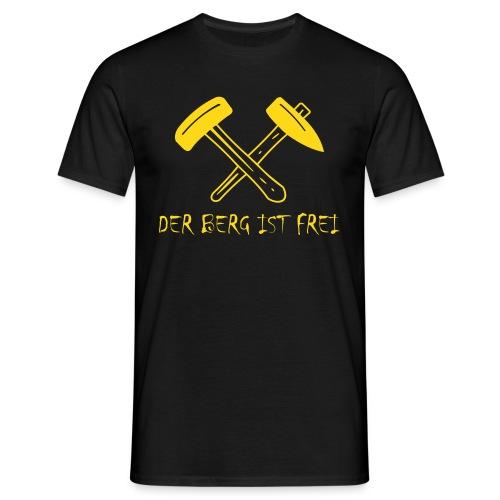 DER BERG IST FREI - Frontseitig bedrucktes Shirt - Männer T-Shirt