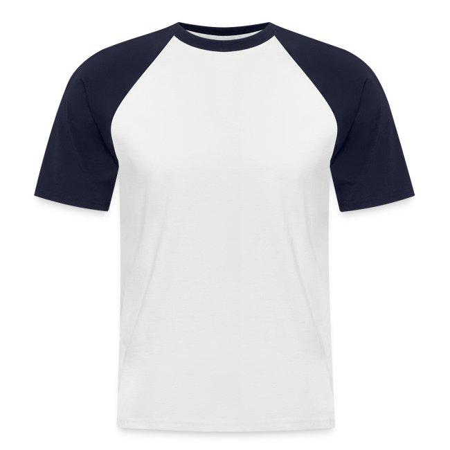 2 farbiges T-Shirt in TOP Qualität, auf der Rückseite bedruckt