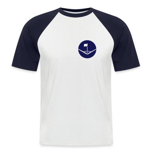 Ecke - Männer Baseball-T-Shirt