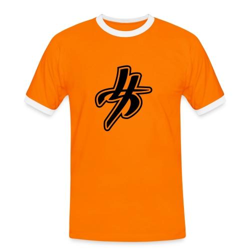 T- Chinois - T-shirt contrasté Homme