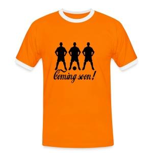 Coming soon Shirt - Mannen contrastshirt