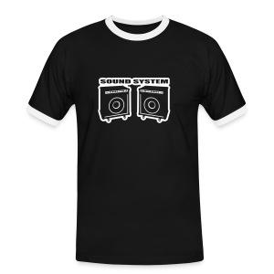 Sound Shirt - Mannen contrastshirt