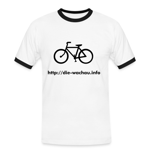 Bike Men's Shirt - Männer Kontrast-T-Shirt