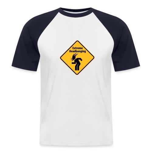 Mannen baseballshirt korte mouw