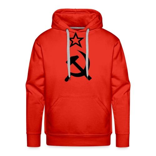 Communiste - Sweat-shirt à capuche Premium pour hommes
