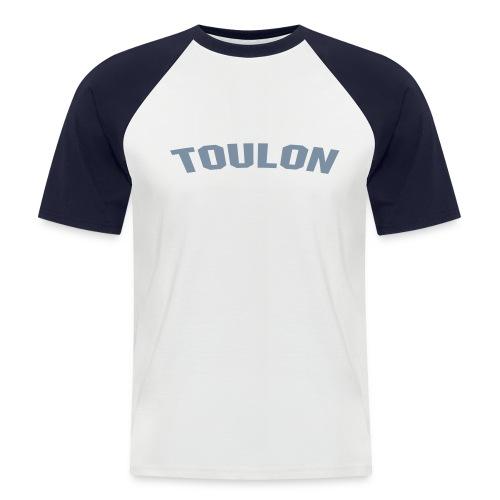 T- Ville - T-shirt baseball manches courtes Homme