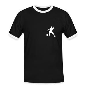 StreetSoccer T-shirt - Mannen contrastshirt