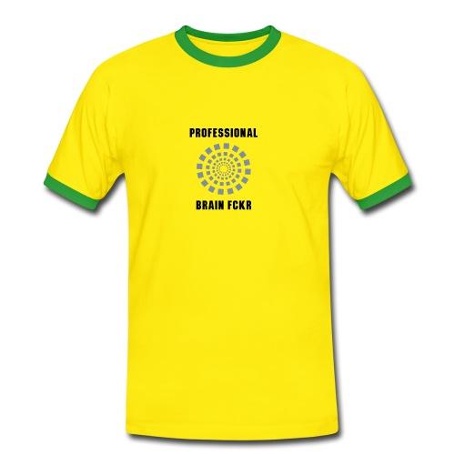 Brain fckr - Mannen contrastshirt