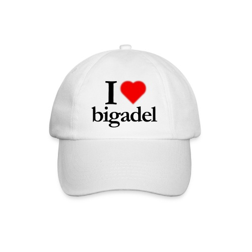 Cappellino I love Bigadel - Cappello con visiera