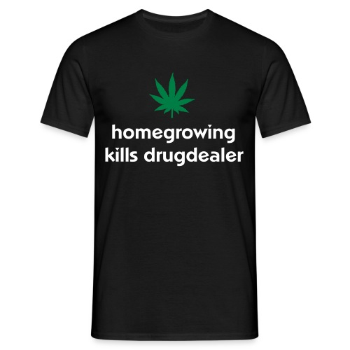 Homegrowing - Mannen T-shirt