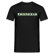T-Shirts ~ Men's T-Shirt ~ Fantazia Logo (Glow in Dark)