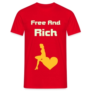 Free and Rich - T-shirt Homme