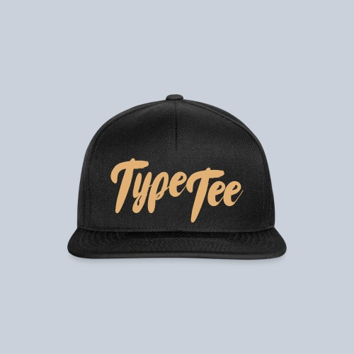 TypeTee SnapCap - Snapback cap