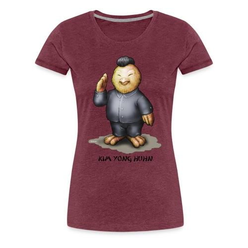 Kim Yong Huhn (girl) - Frauen Premium T-Shirt