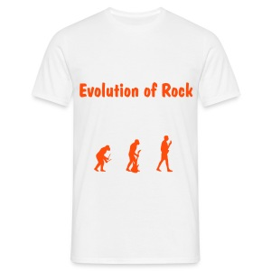 Evolution OF rock - T-shirt Homme
