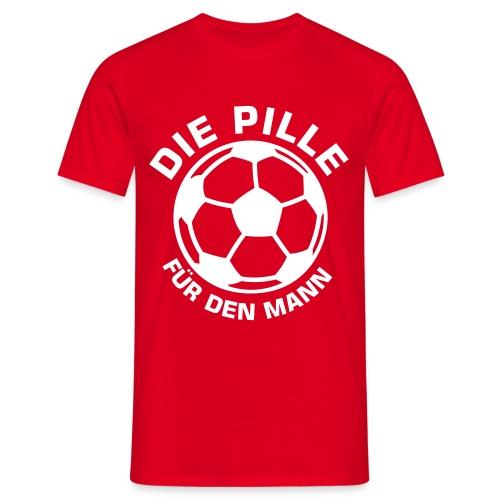 Männer T-Shirt - ...die Pille...