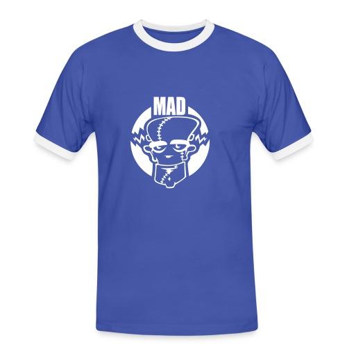 Mens Slim Contrast Tee mAD - Mannen contrastshirt