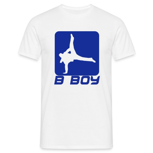 B boy - Mannen T-shirt